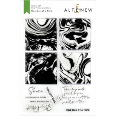 Altenew - One Day At A Time - Clear Stamp 6x8