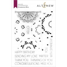 Altenew - Ornamental Bliss - Clear Stamp 6x8