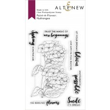 Altenew - Paint-A-Flower Hydrangea - Clear Stamps 4x6