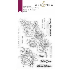 Altenew - Paint-A-Flower: Rose - Clear Stamps 4x6