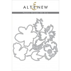 Altenew - Peony Dream 3d - Stanze