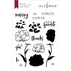 Altenew - Playful Blooms - Clear Stamp 6x8