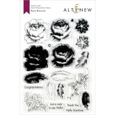 Altenew - Rose Blossom - Clear Stamp