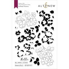 Altenew - Ruffled Flowers - Clear Stamp 6x8