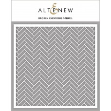 Altenew - Schablone - Broken Chevrons