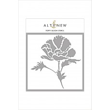 Altenew - Schablone - Poppy Bloom