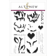 Altenew - Sewn With Love - Clear Stamp 6x8