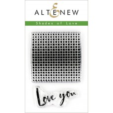 Altenew - Shades Of Love - Clear Stamps 2x3