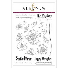 Altenew - Smile More - Clear Stamps 6x8