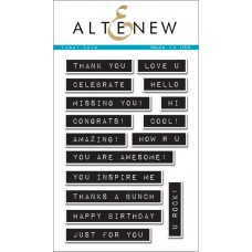 Altenew - Stempelset 4x6 - Label Love