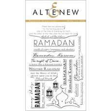 Altenew - Stempelset 4x6 - Ramadan Greetings