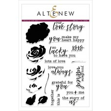 Altenew - Story Of Us - Clear Stamps 6x8