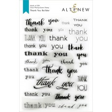 Altenew - Thank You Builder - Clear Stamp 6x8