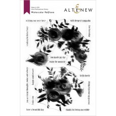Altenew - Watercolor Halftone - Clear Stamp 6x8