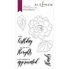 Altenew - Wispy Begonia - Clear Stamp 4x6