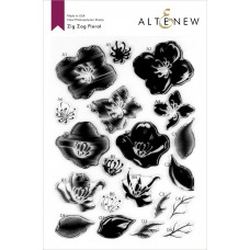 Altenew - Zig Zag Floral - Clear Stamps 6x8