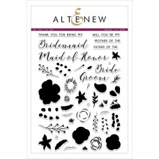 Altenew - Bride To Be - Clear Stamp 6x8