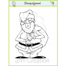 JM Creation - Alter Nikolaus - Cling Stamp