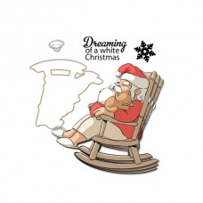 Art Impressions - Dreaming Mini Shaker - Clear Stamp & Die Set