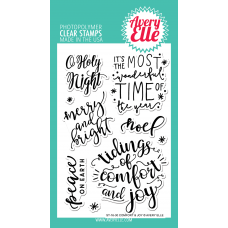 Avery Elle - Comfort & Joy - Clear Stamp 4x6