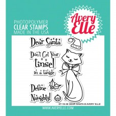 Avery Elle - Dear Santa Clear Stamps 4x6