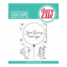 Avery Elle - Some Bunny - Clear Stamps 3x4