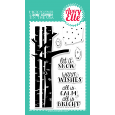 Avery Elle - Let it Snow - Clearstamps