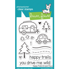 clear stamps lawn fawn happy trails für scrapbooking & cardmakings