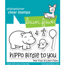 clear stamps lawn fawn year four für scrapbooking & cardmakings