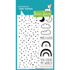 clear stamps lawn fawn Starry Backdrop  für scrapbooking & cardmakings