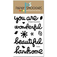Paper Smooches - kudos - Clearstamps