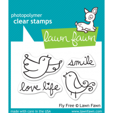 clear stamps lawn fawn fly free für scrapbooking & cardmakings