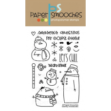 Paper Smooches - Swanky Snowdudes - Clearstamps für scrapbook und cardmaking
