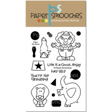 Paper Smooches - Enjoy The Show - Clearstamps