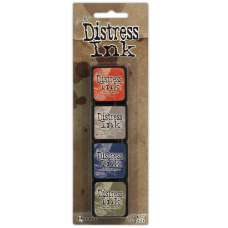 Ranger by tim holtz distress mini ink kit 5