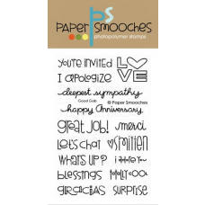 clear stamps paper smooches good gab für scrapbooking & cardmaking