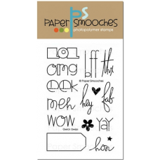 Paper Smooches - Qwick Qwips - Clearstamps