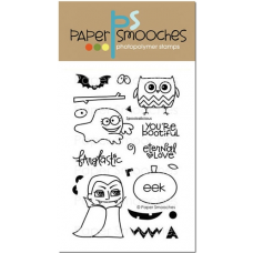 Paper Smooches - Spookalicious - Clearstamps