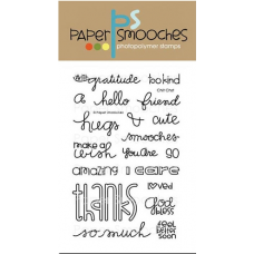 clear stamps paper smooches chit chat für scrapbooking & cardmaking