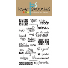 clear stamps paper smooches captured moments für scrapbooking & cardmaking