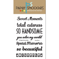 clear stamps paper smooches headliners für scrapbooking & cardmaking