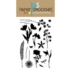 clear stamps paper smooches botanicals 1 für scrapbooking & cardmaking