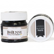BoBunny - Glitter Paste Licorice 50ml