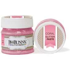 BoBunny - Glitter Paste Coral 50ml