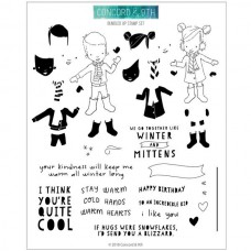 Concorde & 9th - Bundled Up - Clear Stamps 6x8
