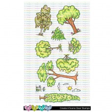 C.C. Designs - Create-A-Scene - Clear Stamp 4x8