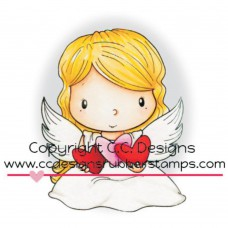 C.C. Designs - Angel Wings (Rubberstamp)