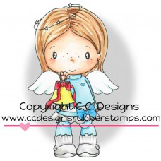 C.C. Designs Swiss Pixie Cling Stamp - Birgitta Rings A Bell