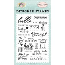Carta Bella - The good Life - Clear Stamp 4x6