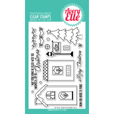 Avery Elle - Chalet - Clear Stamp 4x6
